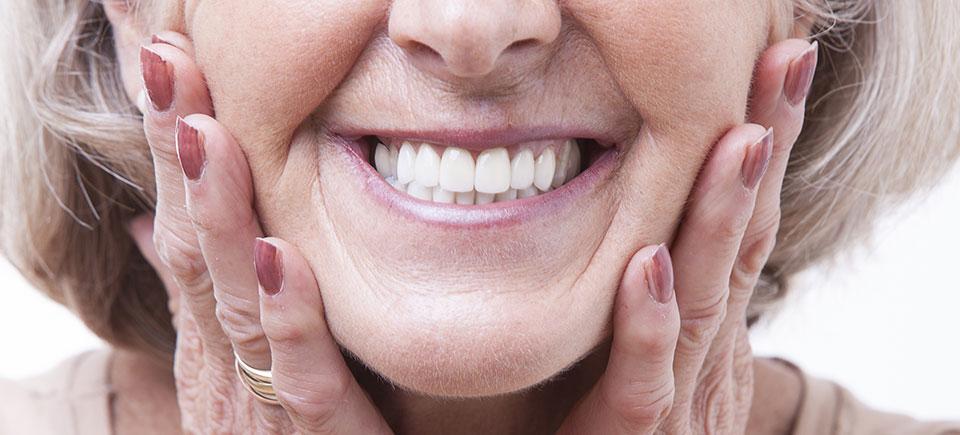 Denture Image of happy lady