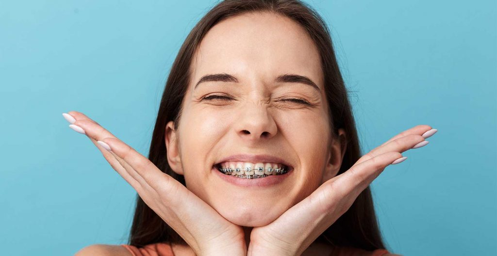 Girl smiling with braces and orthodontics near South Gate, CA